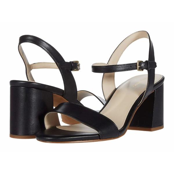 コールハーン レディース ヒール シューズ Josie Block Heel Sandal Black Leather