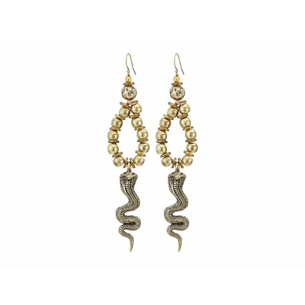 バネッサモーネイ レディース ピアス&イヤリング アクセサリー Cobra Earrings Gold