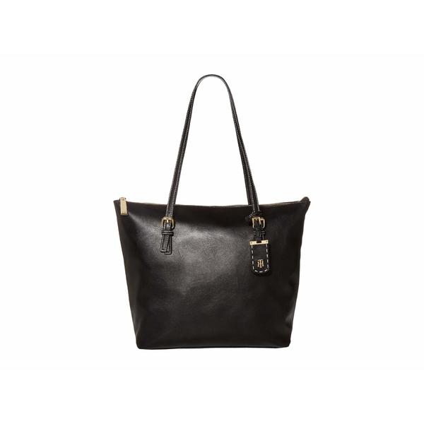 トミー ヒルフィガー レディース ハンドバッグ バッグ Julianne 1.5 - Tote - Smooth PVC Black