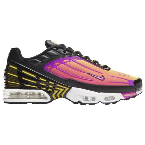 ナイキ メンズ ランニング スポーツ Air Max Plus III Black/Hyper Violet/Dynamic Yellow/Pink Blast