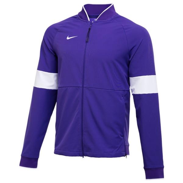 ナイキ メンズ ジャケット&ブルゾン アウター Team Authentic Therma Midweight Jacket Court Purple/White/White