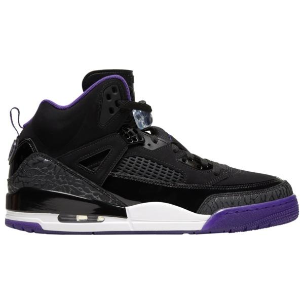 ジョーダン メンズ バスケットボール スポーツ Spizike Black/Court Purple/Anthracite/White