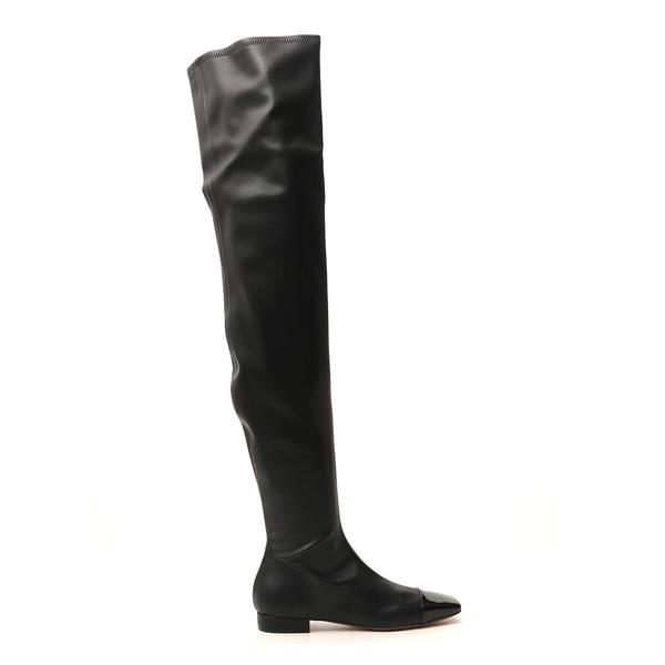 消費税無し ロートルショーズ レディース ブーツ&レインブーツ シューズ L'Autre Chose Over The Knee Square-Toe Boots -, Happy Smiles 4b29bb43