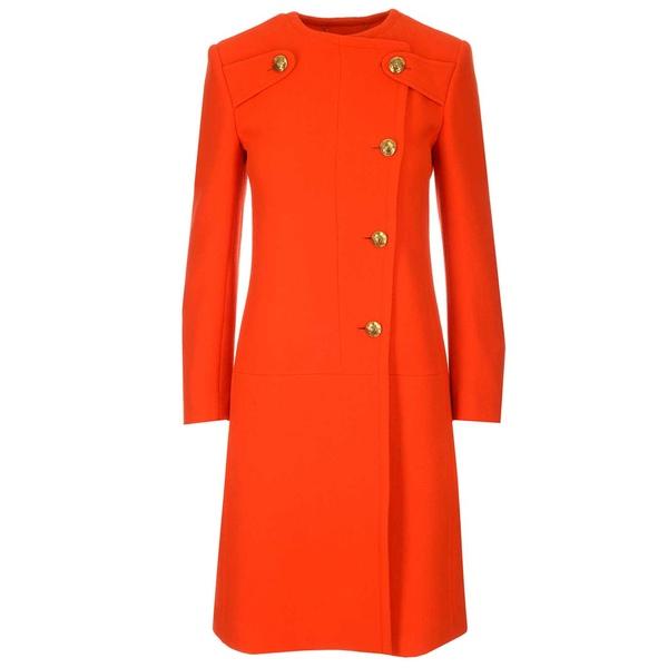 レディース Coat アウター Off-Centered コート - Givenchy ジバンシー Round-Neck