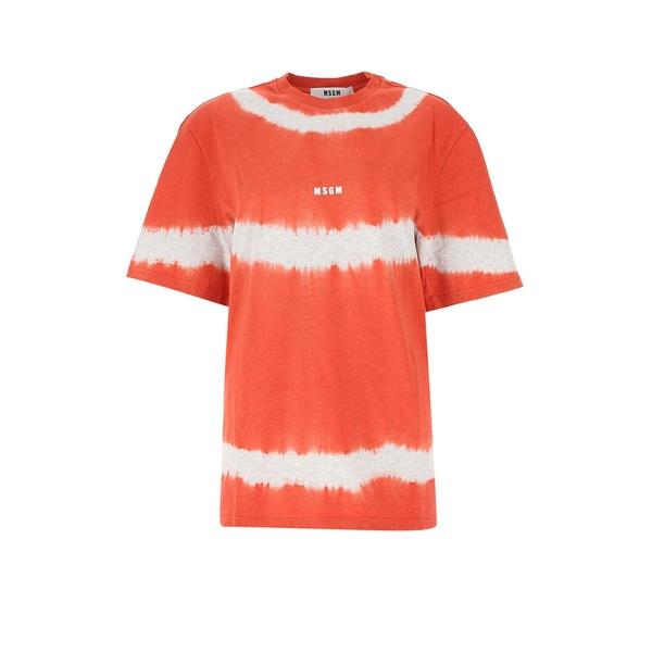 贈り物 エムエスジイエム レディース Tシャツ トップス MSGM トップス Logo Tie-Dye MSGM Tシャツ T-Shirt -, e-smile:1bb91b67 --- kventurepartners.sakura.ne.jp