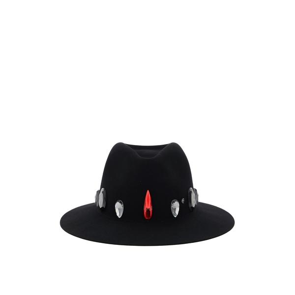 メゾンミッシェル  レディース 帽子 アクセサリー Maison Michel Jewelled Embellished Hat -