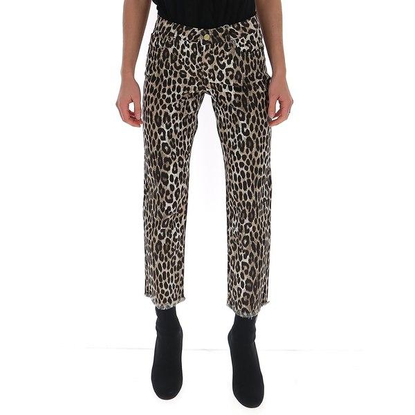 【送料無料/即納】  マイケルコース レディース カジュアルパンツ ボトムス Michael Michael Kors マイケルコース Leopard Hem ボトムス Print Fringed Hem Pants -, 足駄や:d4485e7f --- kventurepartners.sakura.ne.jp