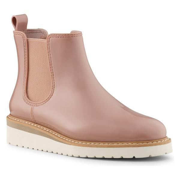クーガー レディース ブーツ&レインブーツ シューズ Cougar Kensington Chelsea Rain Boot (Women) Nude