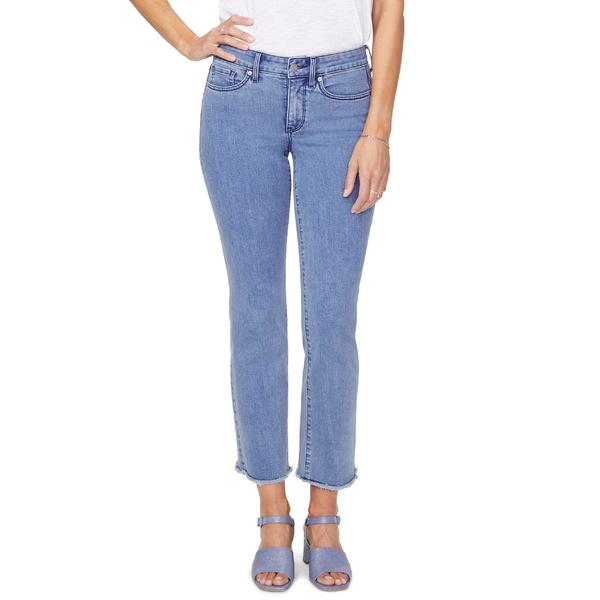 エヌワイディージェイ レディース カジュアルパンツ ボトムス NYDJ Marilyn Raw Hem Ankle Jeans Delray