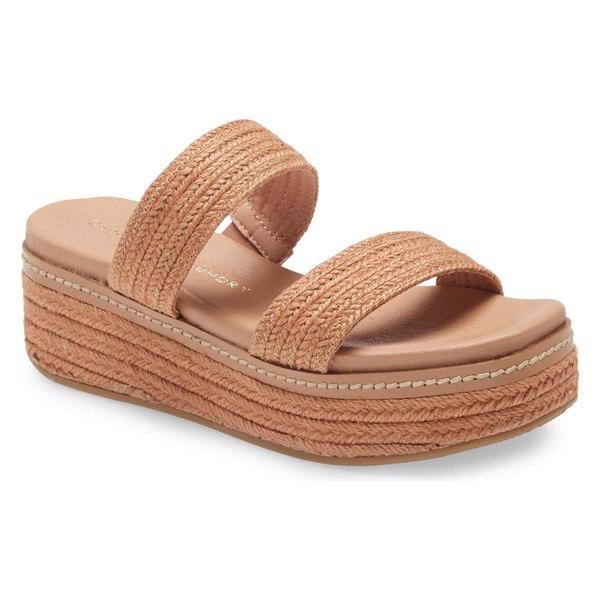チャイニーズランドリー レディース サンダル シューズ Chinese Laundry Zion Espadrille Wedge Sandal (Women) Clay Fabric