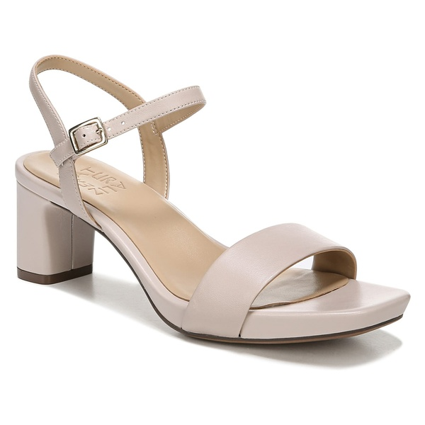 ナチュライザー レディース サンダル シューズ Naturalizer Ivy Quarter Strap Sandal (Women) Soft Marble Leather