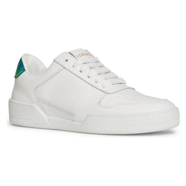 ヴェルサーチ レディース スニーカー シューズ Versace Sempliace Jungle Sneaker (Women) White/ Green