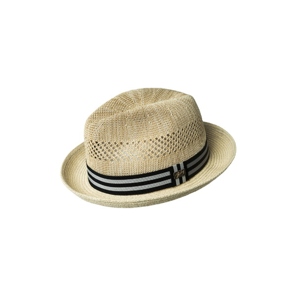 ベイレイ メンズ 帽子 アクセサリー Bailey 'Berle' Fedora Vanilla