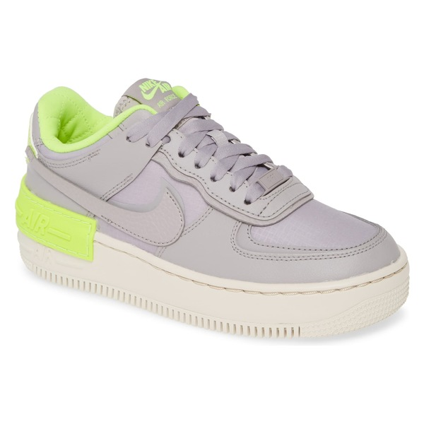 ナイキ レディース スニーカー シューズ Nike Air Force 1 Shadow SE Sneaker (Women) Atmosphere Grey