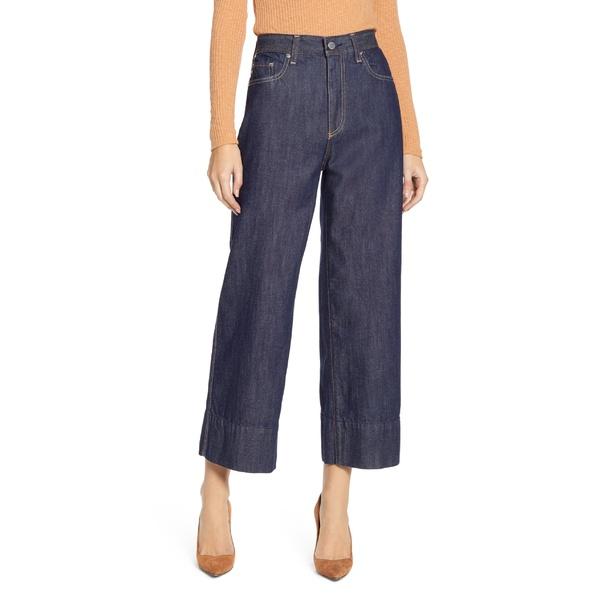 エージー レディース カジュアルパンツ ボトムス AG Etta High Waist Crop Wide Leg Jeans Intuitive