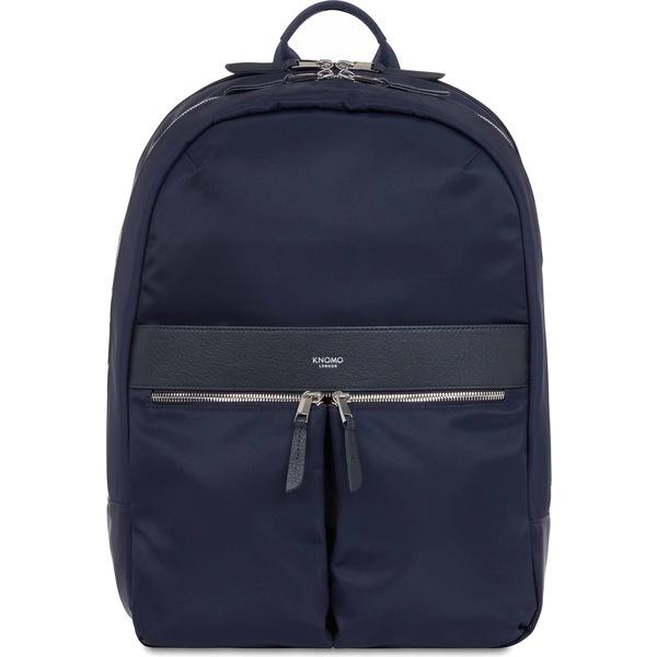 クノモ メンズ バックパック・リュックサック バッグ KNOMO London Mayfair Beaufort Backpack Navy