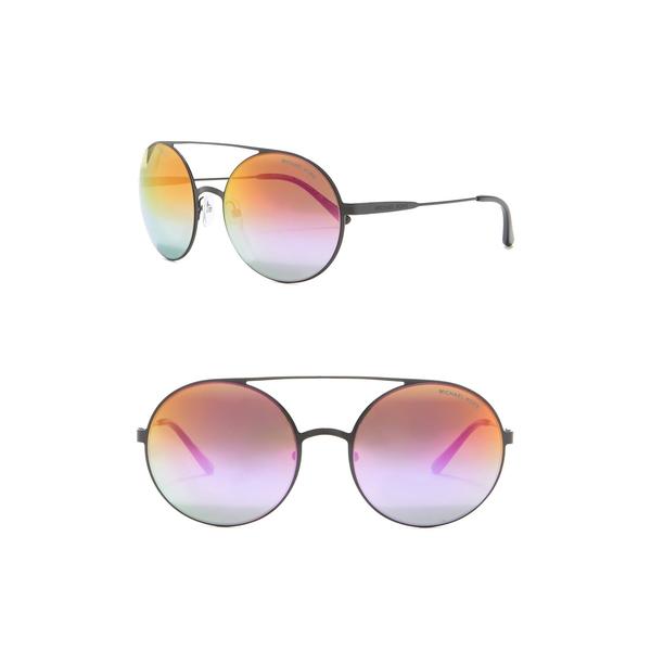 マイケルコース レディース アクセサリー サングラス アイウェア まとめ買い特価 BLACK 全商品無料サイズ交換 Round Sunglasses Aviator セール商品 55mm Cabo