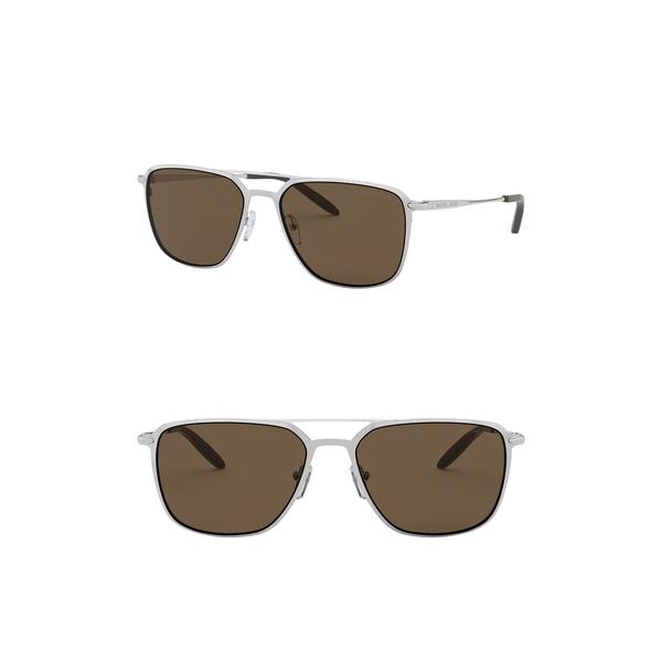マイケルコース メンズ アクセサリー 爆買い送料無料 サングラス アイウェア 全商品無料サイズ交換 57mm Sunglasses SILVER 即納送料無料! Pilot