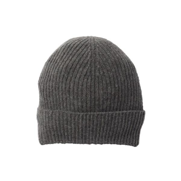 ポートラノ レディース 格安激安 アクセサリー 帽子 激安超特価 MH 全商品無料サイズ交換 GREY Hat Ribbed Cashmere