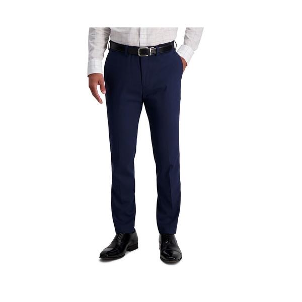 ルイス ラファエル メンズ ボトムス カジュアルパンツ 激安☆超特価 Blue 全商品無料サイズ交換 Comfort Flat Pant 新品未使用正規品 Sharkskin Fit Front Slim Stretch Dress