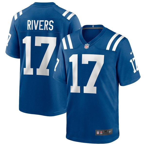 ナイキ メンズ ユニフォーム トップス Philip Rivers Indianapolis Colts Nike Game Jersey Royal