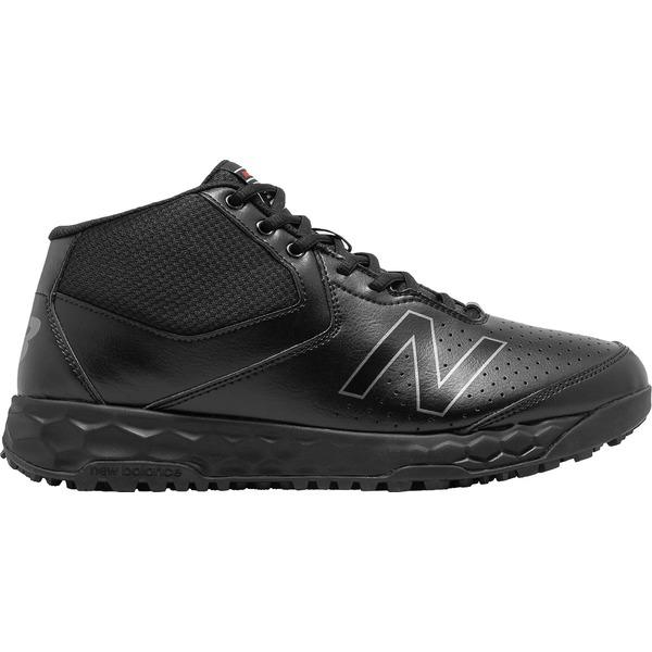New Balance メンズ スポーツ 野球 Black/Black 全商品無料サイズ交換 ニューバランス メンズ 野球 スポーツ New Balance Men's MU950 V3 Mid Umpire Shoes Black/Black