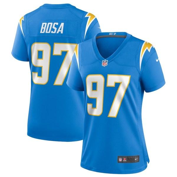 ナイキ レディース シャツ トップス Joey Bosa Los Angeles Chargers Nike Women's Game Player Jersey Powder Blue