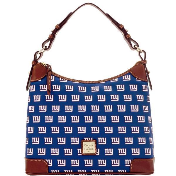 ドーネイアンドバーク レディース バックパック・リュックサック バッグ New York Giants Dooney & Bourke Women's Hobo Purse Royal