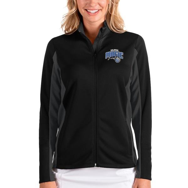 アンティグア レディース ジャケット&ブルゾン アウター Orlando Magic Antigua Women's Passage Full-Zip Jacket Black/Charcoal