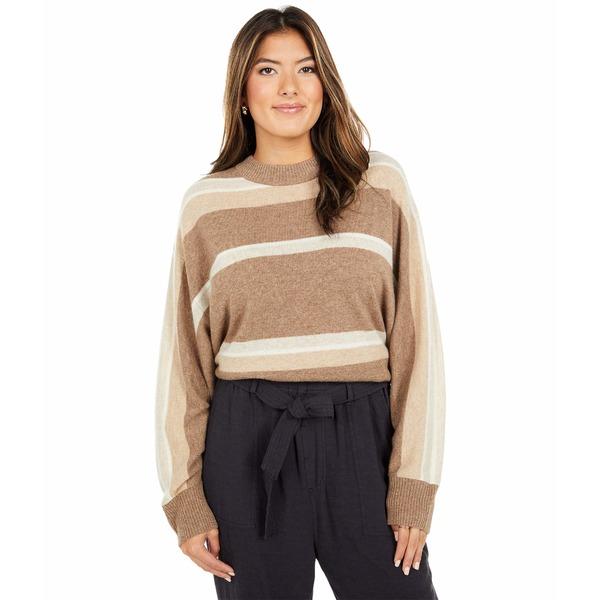 Sweater Avalon Camel Striped アウター ニット&セーター レディース Dolman スプレンディット