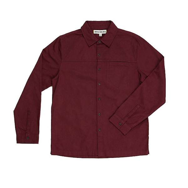 ロアマーズ メンズ シャツ トップス Roamers Men's Plaskett Shirt Merlot