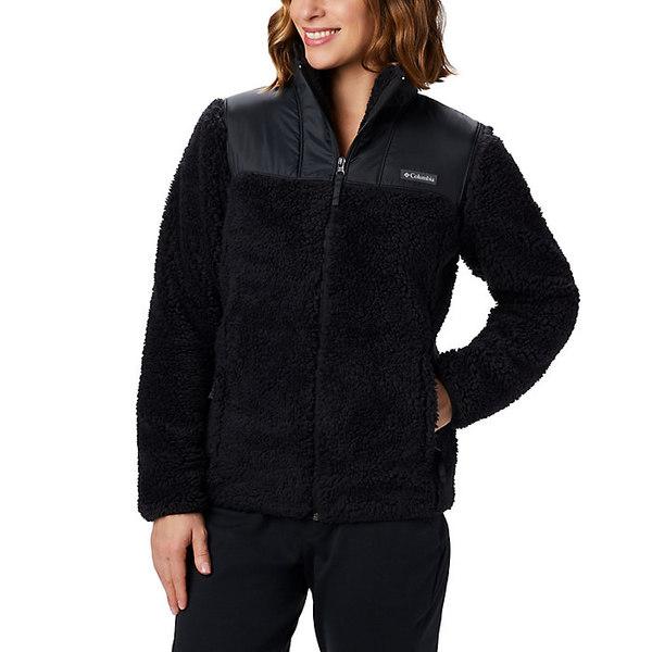 コロンビア レディース ジャケット&ブルゾン アウター Columbia Women's Winter Pass Fleece Full Zip Black