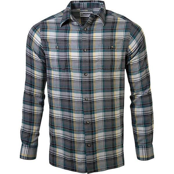 マウンテンカーキス メンズ シャツ トップス Mountain Khakis Men's Meridian LS Shirt Gunmetal