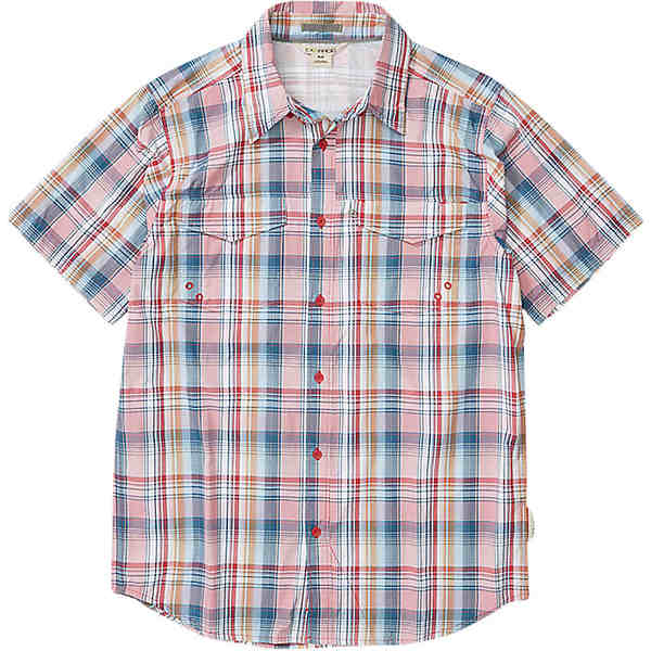 エクスオフィシオ メンズ シャツ トップス ExOfficio Men's Estacado SS Shirt Scarlet Sage