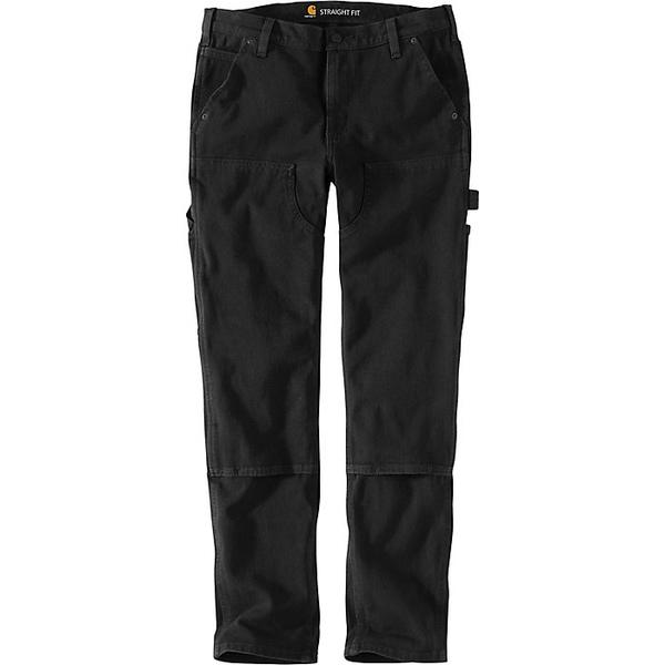 カーハート レディース カジュアルパンツ ボトムス Carhartt Women's Straight Fit Twill Double Front Pant Black