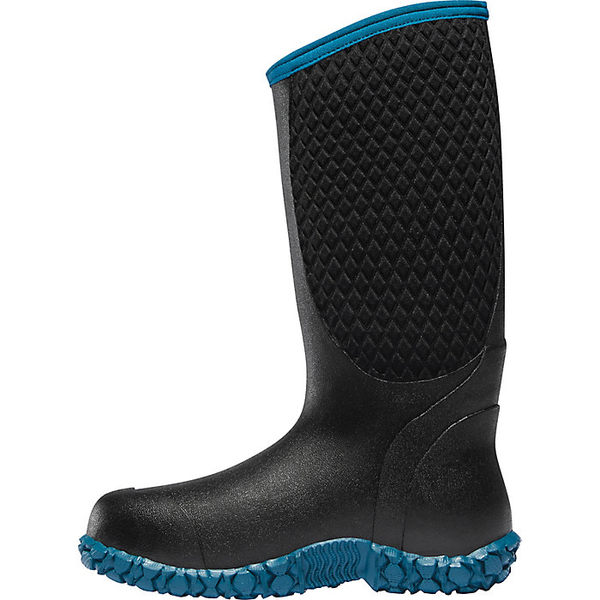 ラクロス レディース ブーツ&レインブーツ シューズ Lacrosse Women's Alpha Lite 14IN 5mm Neoprene Boot Celestial Blue / Black