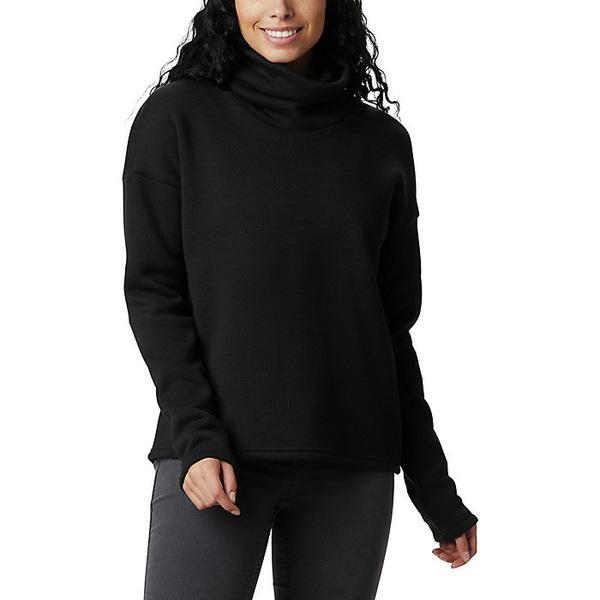 コロンビア レディース ジャケット&ブルゾン アウター Columbia Women's Chillin Fleece Pullover Black Thermal