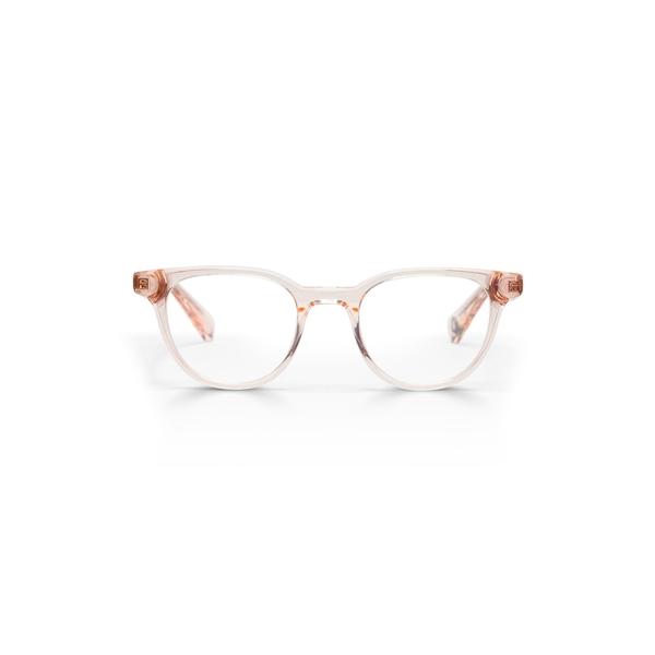 アイブブス メンズ アクセサリー サングラス・アイウェア Pink Crystal/ Clear 全商品無料サイズ交換 アイブブス メンズ サングラス・アイウェア アクセサリー Eleanor 45mm Round Reading Glasses Pink Crystal/ Clear