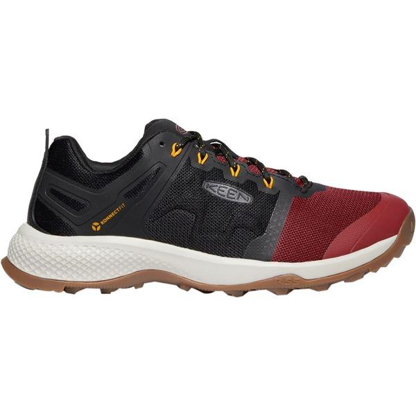 キーン メンズ ハイキング スポーツ Explore Vent Hiking Shoe - Men's Merlot/Black