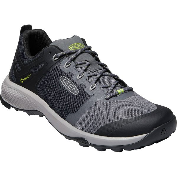 キーン メンズ ハイキング スポーツ Explore Vent Hiking Shoe - Men's Magnet/Chartreuse