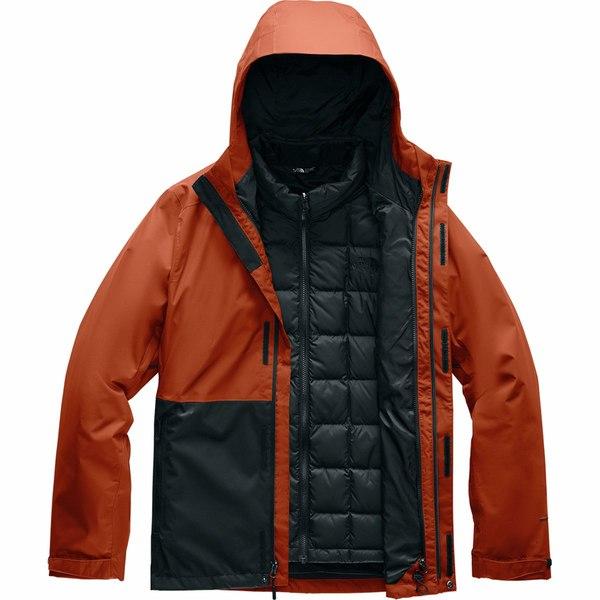 ノースフェイス メンズ ジャケット&ブルゾン アウター Altier Down Triclimate Hooded Jacket - Men's Picante Red/Tnf Black