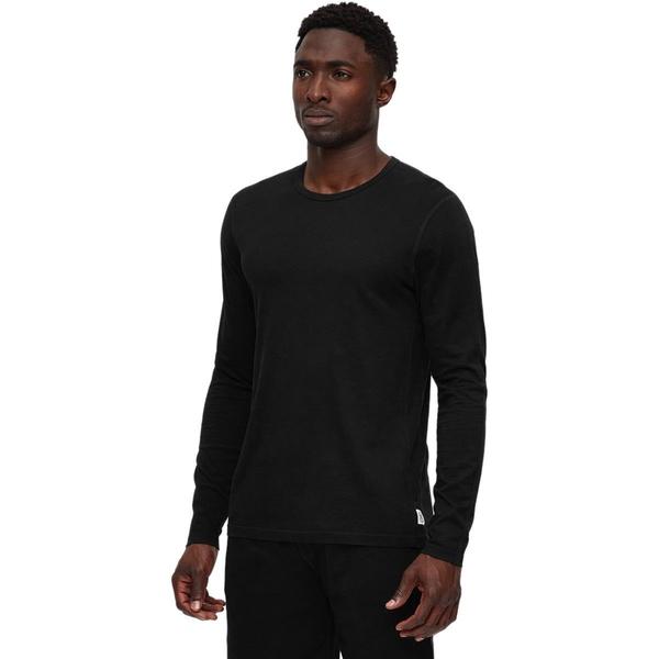 レイニングチャンプ メンズ シャツ トップス Copper Jersey Long-Sleeve T-Shirt - Men's Black