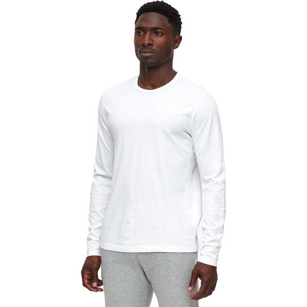 レイニングチャンプ メンズ シャツ トップス Copper Jersey Long-Sleeve T-Shirt - Men's White