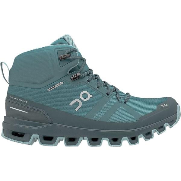 オン ランニング レディース ハイキング スポーツ Cloudrock Hiking Boot - Women's Storm/Wash