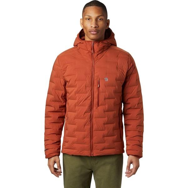 マウンテンハードウェア メンズ ジャケット&ブルゾン アウター Super DS Stretchdown Hooded Jacket - Men's Rusted