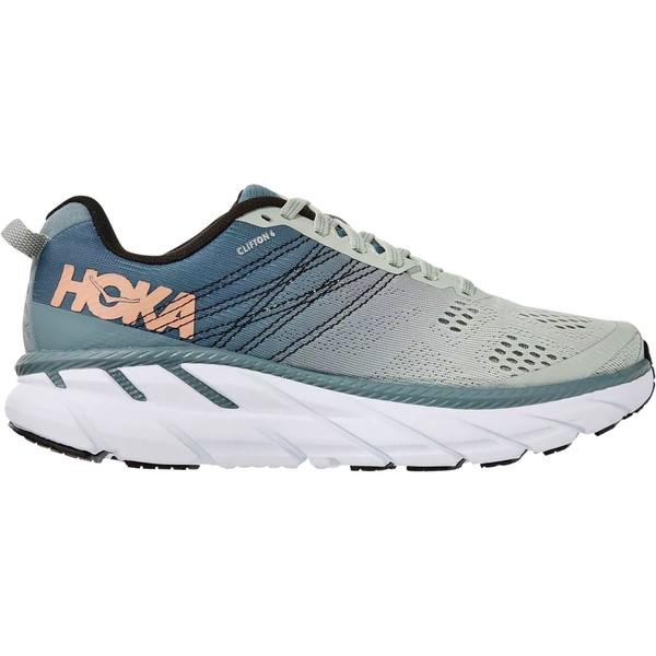 ホッカオネオネ レディース ランニング スポーツ Clifton 6 Running Shoe - Women's Lead/Sea Foam