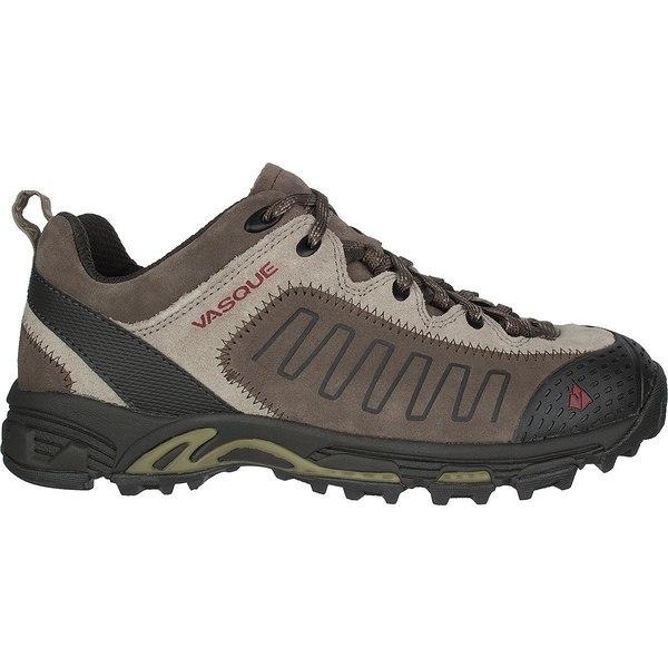 バスク メンズ スニーカー シューズ Juxt Hiking Shoe - Men's Aluminum/Chili Pepper