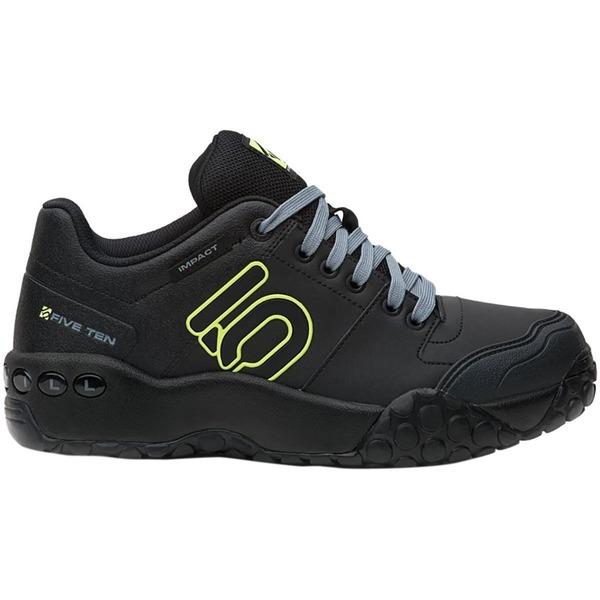 ファイブテン メンズ サイクリング スポーツ Impact Sam Hill Cycling Shoe - Men's Black/Grey/Semi Solar Yellow