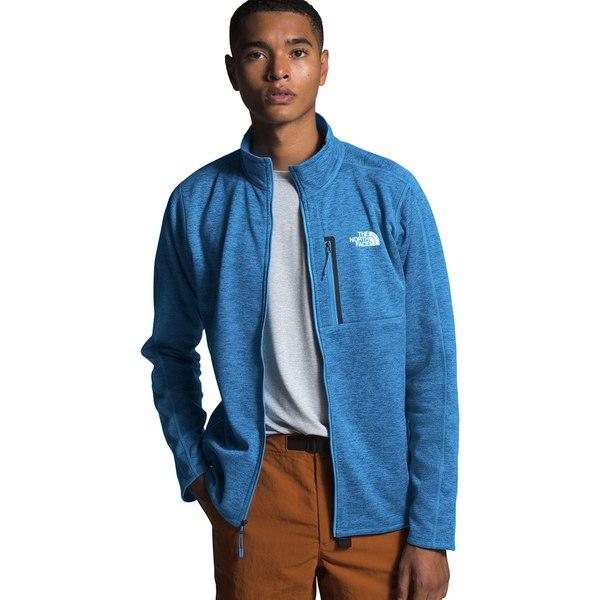 ノースフェイス メンズ ジャケット&ブルゾン アウター Canyonlands Fleece Jacket - Men's Clear Lake Blue Heather
