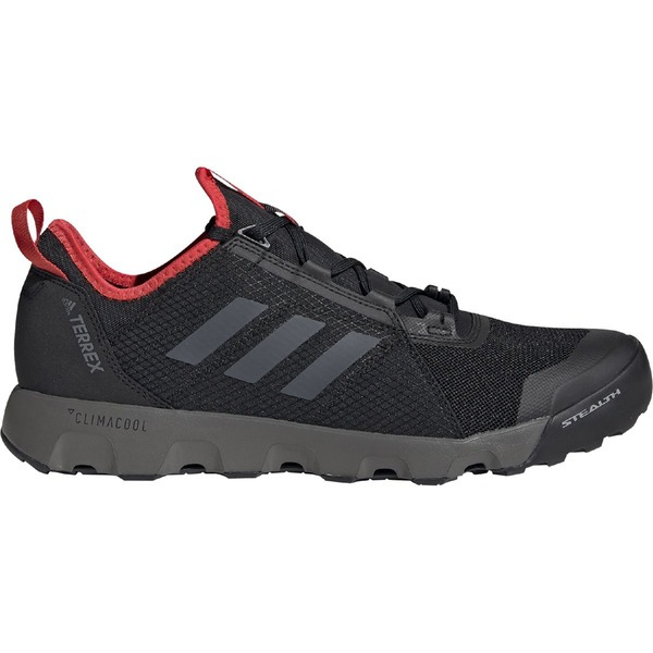 アディダス アウトドア メンズ ハイキング スポーツ Terrex Summer.RDY Voyager Speed Water Shoe - Men's Black/Grey Four/Active Red